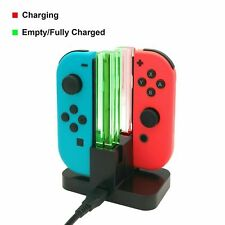 Charge Dock Controller Charging LED Stand Charger For Nintendo Switch Joy-Con UK