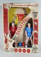 Vintage Mr Basketball B & K Enterprises Very Rare 2 PLAYER MCM B&K Toy Game 1100