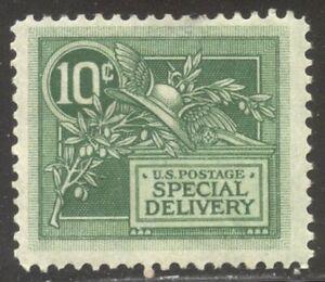U.S. #E7 Mint - 1908 10c Green ($65)