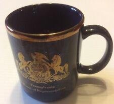Pennsylvania House of Representatives mug coffee cup virtue Liberty independence