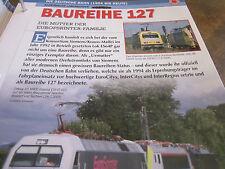 Deutsche Eisenbahngeschichte DB AG ab 1994 BAureihe 127 Mutter Eurosprinter