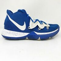 Nike Mens Kyrie 5 TB CN9519-401 Blue Basketball Shoes Lace Up Mid Top Size 10