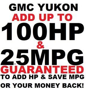 #1 Tuner Performance Chip GMC YUKON XL 1500/2500 SAVE GAS ADD POWER 5.3 5.7 6.2
