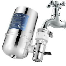 Faucet Water Filter Kitchen Sink Bathroom Mount Filtration Tap Purifier System