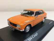 Minichamps Peugeot 304 Coupé 1972 Orange 1/43 400112721