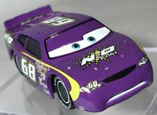 Disney Pixar Cars N2O Cola #68 Synthetic Rubber Tires Purple Diecast K-Mart Rare
