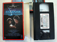 VHS: Starman: RCA Columbia side loader 1985 Jeff Bridges John Carpenter