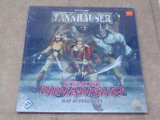 Tannhauser Operation Hinansho Map Supplement Sealed New Fantasy Flight Games FFG