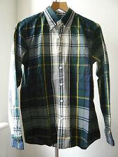 Very Cool SOPHNET plaid very light spring summer Shirt Sz M