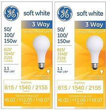 Three-Way Soft White Incandescent Bulb 50/100/150 Watts
