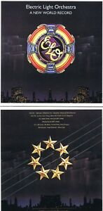 """Electric Light Orchestra """" A New World Record """" 9 Songs + 6 Bonus! 1976 ! Neuf"""