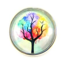 Noosa Style Chunks Snap Button Charms Ginger Snaps Charm Tree Of Life 20mm 127