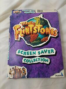 Flintstones Screen Saver Collection Big Box 1994 PC computer complete