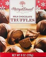Harry And David Milk Chocolate Truffles 8oz *~* FAST FREE SHIPPING ! *~*