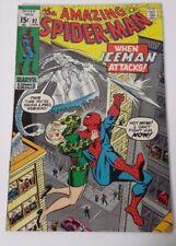 Marvels Vintage The Amazing Spider-Man comic book ASM 92