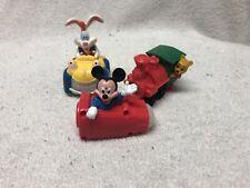 Disneyland Adventures Anniversary photo Viewer toys MICKEY ROGER RABBIT & POOH