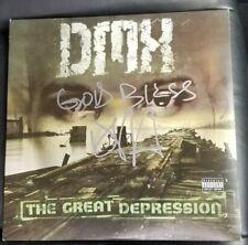 DMX Autographed Signed The Great Depression Vinyl Album