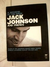Jack Johnson and Friends- A Weekend At The Greek ,(DVD, MUsic)  G11