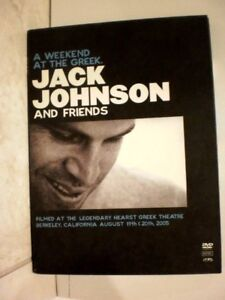 Jack Johnson and Friends- A Weekend At The Greek ,(DVD, MUsic)  LC2