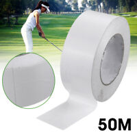 Professional 50M Roll Golf Club Grip Tape Strips Double Sided Adhesive Sponge J