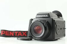 【MINT】PENTAX 645 Medium Format Camera w/120 Film Back Cap, 75mm F2.8,strap #193