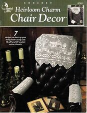 Heirloom Charm Chair Decor ( Annie's Attic Crochet Booklet)