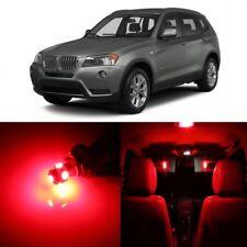 16 x Error Free Red LED Interior Light Kit For 2011-2015 BMW X3 Series + TOOL