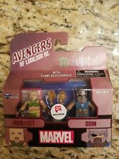 "Marvel Minimates Iron Fist & Odin Walgreens Exclusive Avengers Mini Figures 2"""