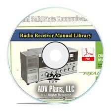 Radio Receiver, Transceiver, Scanner Manuals Schematics, Realistic, ICOM DVD F47