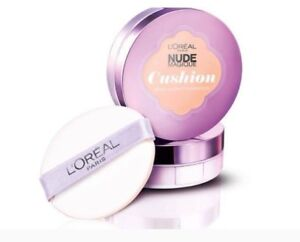 L'Oreal Paris Nude  Cushion dewy glow foundation colours to choose from,14.6g