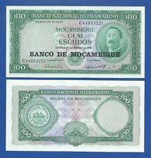 MOZAMBIQUE -- 100 ESCUDOS ND 1976 ( O.D.1961 ) -- UNC -- PICK 117a .