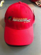 2005 Daytona 500 Club Budweiser Shootout Strap Back Hat NWT.