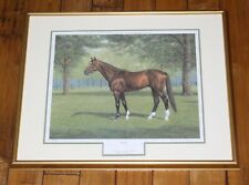 Horse Racing Richard Stone Reeves 'Cigar' Framed Signed Numbered Print 306/500