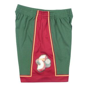 Seattle Supersonics 1995 NBA Mitchell & Ness Authentic Swingman Shorts - Green