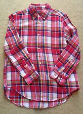 Ralph Lauren Checked Shirt Age 7