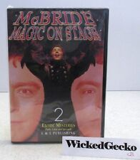 JEFF McBRIDE Magic On Stage Vol 2 DVD Exotic Mysteries - Magic Instruction HowTo