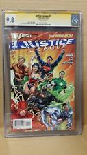JUSTICE LEAGUE #1 (CGC SS GRADED 9.8 NM/MT WP) SIGNATURE SERIES SIGNED JIM LEE