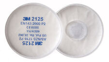 3M 2125 P2R 2000 Series Particulate Filters 1 Pair