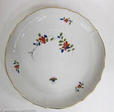 Meissener-Porzellangeschirr mit Schalen-Goldranden