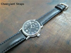 Montblanc padded leather strap hand made watch band Cheergiant straps 萬寶龍牛皮手工錶帶