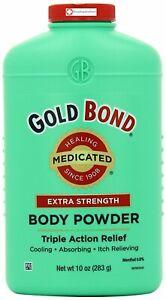 Gold Bond Medicated Extra Strength Body Powder 10 Oz