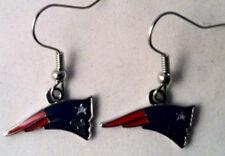 "New England Patriots Dangle Earrings - ""MINCO"""