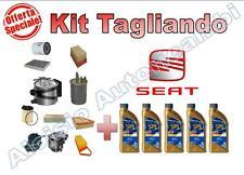 KIT TAGLIANDO OLIO ERG ONE 5W30 + FILTRI SEAT LEON II 2.0 TDI 140 CV 103 KW *