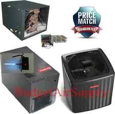 4 Ton 18 Seer 2 Stage Heat Pump HORIZONTAL DSZC180481+MBVC2000+CHPF4860D+Heat+UV