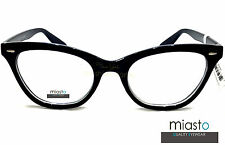 "~ LOT OF 2 ~ MIASTO WOMENS CAT EYE READER READING GLASSES +3.00  ""Skeeter"""