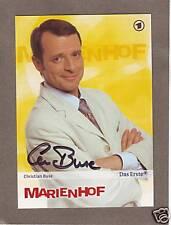 """Christian BUSE - dt. TV-Schauspieler, """"Marienhof"""", Original-Autogramm!"""
