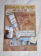 Leonard de Vinci décrypté.  Les elohims des châteaux de la loire & cathédrale