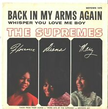 SUPREMES--PICTURE SLEEVE ONLY--(BACK IN MY ARMS AGAIN)--PS--PIC--SLV