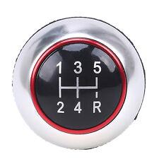 1x 5 Speed Manual Transmission Car Gear Shift Knob Shifter Lever Black for Volvo