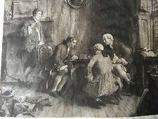 Etching on Velum - Artist's Proof - Hand-Signed by Artist & Etcher